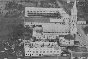 Lajeado Vendaval Destruição(acervo Ageu Kehrwald) 01-09-1967 1