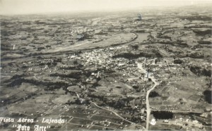 Lajeado vista aérea déc1950
