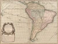 Mapa América Meridional