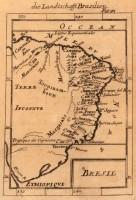 Mapa Brasil 1686