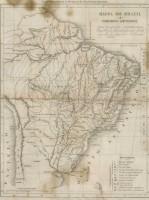 Mapa Brasil séc XIX