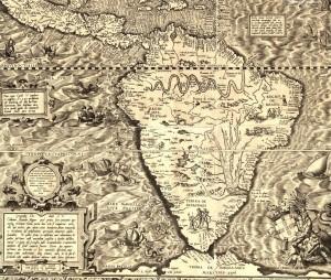 Mapa América do Sul(Gutierrez) (1562)