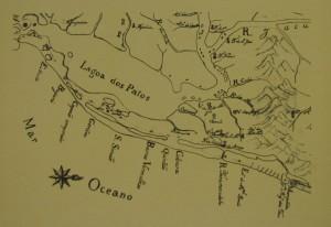 Mapa Lagoa dos Patos(Alferes Antônio) 1780