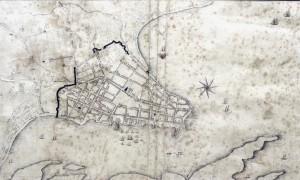 Mapa Porto Alegre 1837
