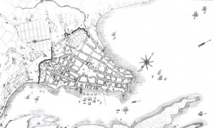 Mapa Porto Alegre 1838