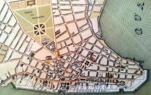 Mapa Porto Alegre Mapa Centro Histórico Cidade Baixa e do Bomfim 1906