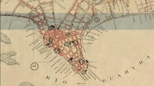 Mapa Porto Alegre Região central 1