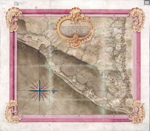 Mapa Rio Grande de São Pedro(Vagner Eifler)