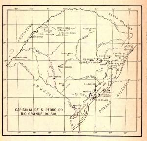 Mapa Rio Grande do Sul 1804