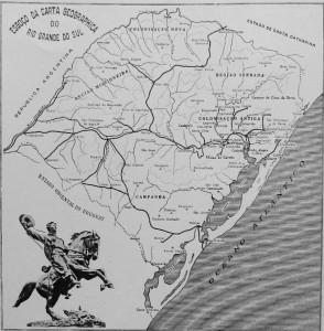 Mapa Rio Grande do Sul déc1920