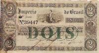 Cédula 2000 réis Tesouro Nacional 1860