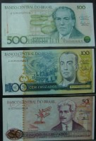 Cédulas 500 100 50