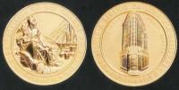 Medalha Centenário Banco Província RS 1958