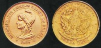 Moeda 10000 réis República 1889