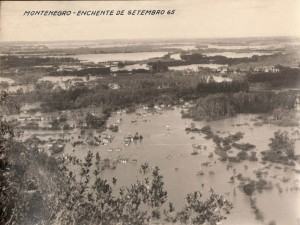 Montenegro Enchente 1965 (1)