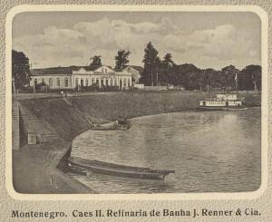 Montenegro Postal Cais II Refinaria de Banha J Renner & Cia (1)
