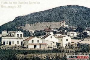 Montenegro Vista da Rua Ramiro Barcelos