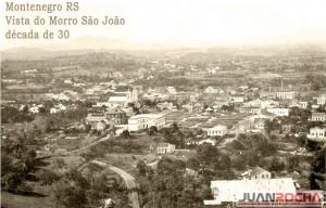 Montenegro Vista do Morro São João déc1930