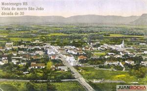 Montenegro Vista do morro São João déc1930 2