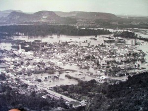 Montenegro enchente do Rio Caí