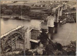 Muçum Ponte Brochado da Rocha Rio Taquari Ferrovia do Trigo