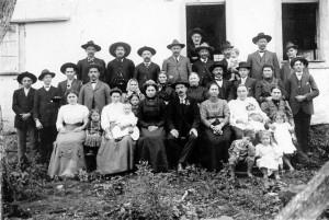 Nova Petrópolis Casamento de José Kuhn e Leopoldina Kandler em Linha Imperial 14-06-1914