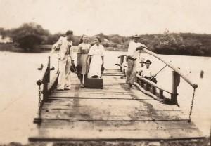Nova Santa Rita Travessia para Canoas 1949