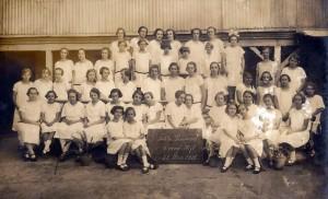 Novo Hamburgo Alunas Fundação Evangélica 28-05-1925