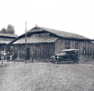 Novo Hamburgo Estação Ferrovia 1915(acervo Ronaldo Fotografia)