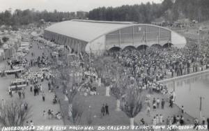 Novo Hamburgo Inauguração 1ª FENAC 1963