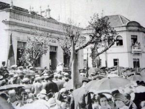 Novo Hamburgo Prefeitura Municipal Av Pedro Adams Filho frente à Praça do Imigrante déc1930