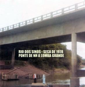 Novo Hamburgo Rio dos Sinos Seca 1978 2