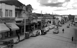 Novo Hamburgo Rua Pedro Adams Filho déc1960