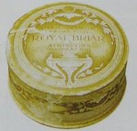 Caixa pó-de-arroz marca Briar déc 1920