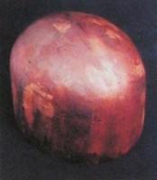 Forma de madeira maciça indústria Chapeleira Porto-alegrense início séc XX