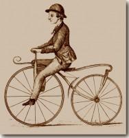 Primeiro Velocípede a Chegar em Porto Alegre 1869(acervo Ronaldo Fotografia)