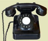 Telefone automático utilizado nas  décadas de  50 a 80(acervo Ronaldo Fotografia)