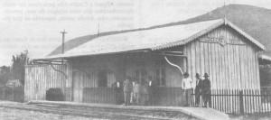 Osório estação ferroviária da linha Conceição do Arroio-Palmares déc1920