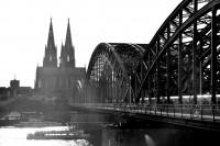 Alemanha Cologne Cathedral(Kölner Dom) Hohenzollern Bridge 1880