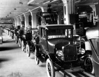EUA Detroit Linha de montagem do Ford T Detroit 1908