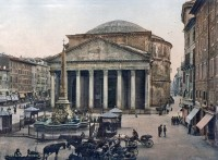 Itália Roma Pantheon