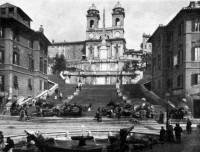 Itália Scalinata di Piazza di Spagna Piazza di Spagna, 97, 00187 Rome, Italy 1908