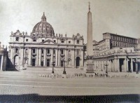 Itália St Peter's, Rome Piazza Papa Pio XII, 00193 Rome, Italy 1873