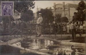 Pelotas Ponte Praça Cel Pedro Osório 1918