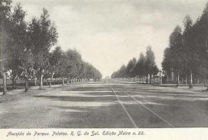 Pelotas Postal do Parque Souza Soares 1900