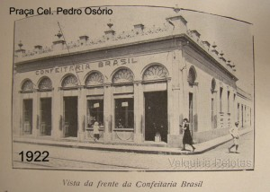 Pelotas Praça Cel Pedro Osório 1922