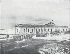 Pelotas Quartel do 9º batalhão do Exército déc1920