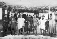 Oswaldo Aranha Revolução de 1922 2º da esquerda para a direita déc1920
