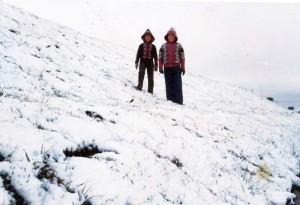 Pinheiro Machado neve em 1975