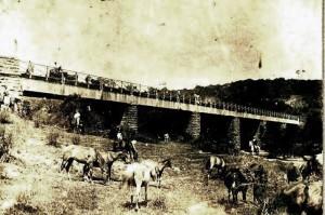 Piratini Ponte do Império em construção
